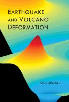 Cover image for Earthquake and volcano deformation