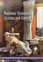 Cover image for Nonlinear dynamical systems and control : a Lyapunov-based approach