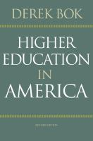 Cover image for Higher education in America