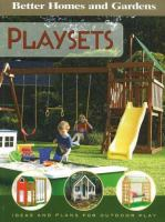Cover image for Playsets : ideas and plans for play structures