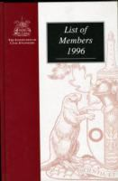 Cover image for List of members 1996