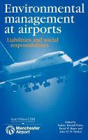 Cover image for Environmental management at airports : liabilities and social responsibilities