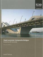 Cover image for Steel-concrete composite bridges : designing with eurocodes