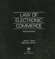 Cover image for Law of electronic commerce