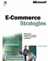 Cover image for E-commerce strategies