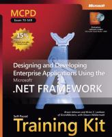 Cover image for MCPD self-paced training kit (exam 70-549) : designing and developing enterprise applications using the Microsoft .NET Framework