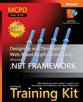 Cover image for MCPD self-paced training kit (exam 70-547) : designing and developing Web-based applications using the Microsoft .NET Framework