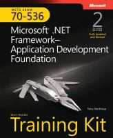 Cover image for MCTS self-paced training kit (exam 70-536 ) :  microsoft .NET framework --application development foundation