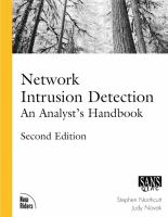 Cover image for Network intrusion detection : an analyst's handbook