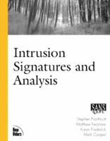 Cover image for Intrusion signatures and analysis