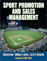 Cover image for Sport promotion and sales management