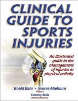 Cover image for Clinical guide to sports injuries