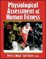 Cover image for Physiological assessment of human fitness