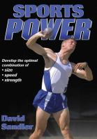 Cover image for Sports power