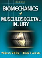 Cover image for Biomechanics of musculoskeletal injury