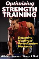 Cover image for Optimizing strength training : designing nonlinear periodization workouts