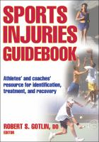 Cover image for Sports injuries guidebook