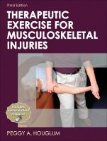 Cover image for Therapeutic exercise for musculoskeletal injuries