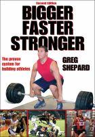 Cover image for Bigger, faster, stronger