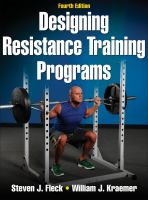 Cover image for Designing resistance training programs