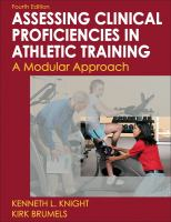 Cover image for Developing clinical proficiency in athletic training : a modular approach