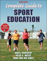 Cover image for Complete guide to sport education
