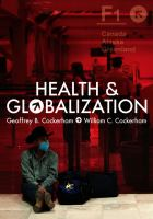 Cover image for Health and globalization