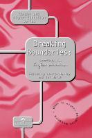 Cover image for Breaking boundaries : women in higher education