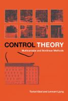 Cover image for Control theory : multivariable and nonlinear methods