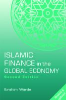 Cover image for Islamic finance in the global economy