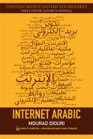 Cover image for Internet Arabic