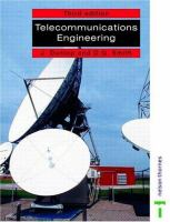 Cover image for Telecommunication engineering