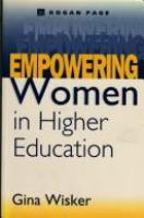 Cover image for Empowering women in higher education