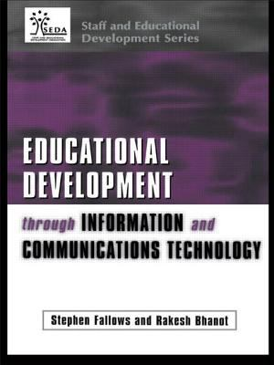 Cover image for Educational development through information and communications technology