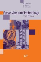 Cover image for Basic vacuum technology