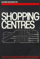 Cover image for Shopping centres : retail development, design, and management