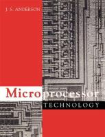 Cover image for Microprocessor technology