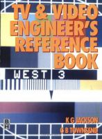Cover image for TV and video engineer's reference book