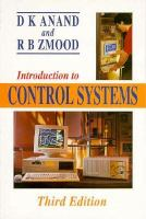 Cover image for Introduction to control systems