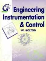 Cover image for Engineering instrumentation and control