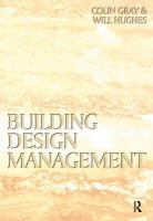Cover image for Building design management