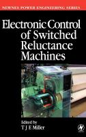 Cover image for Electronic control of switched reluctance machines
