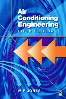 Cover image for Air conditioning engineering