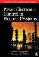 Cover image for Power electronic control in electrical systems