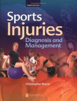 Cover image for Sports injuries :  diagnosis and management