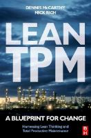 Cover image for Lean TPM : a blueprint for change