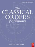Cover image for The classical orders of architecture