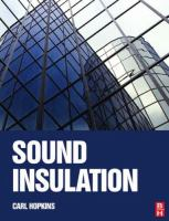 Cover image for Sound insulation