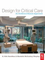 Cover image for Design for critical care : an evidence-based approach