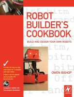 Cover image for The robot builder's cookbook